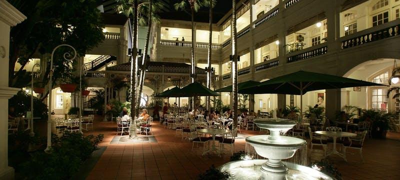 Courtyard of Raffles, Singapore