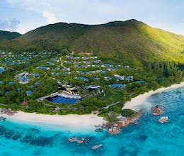 Escape to the Garden of Eden in the heart of idyllic Praslin, a divers paradise<place>Raffles Seychelles</place><fomo>33</fomo>