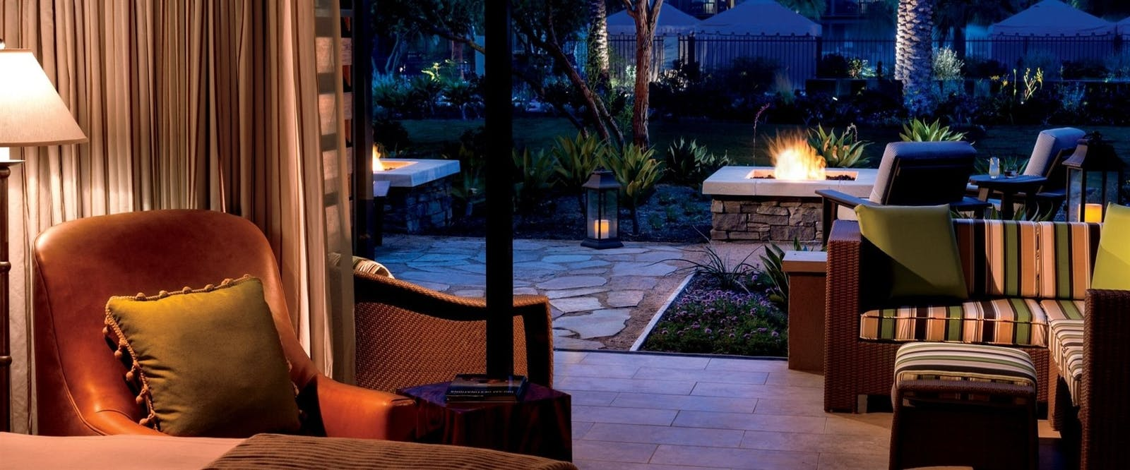 Terrace Firepit King at The Ritz-Carlton, Rancho Mirage