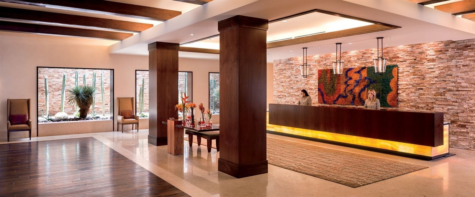 Lobby at The Ritz-Carlton, Rancho Mirage