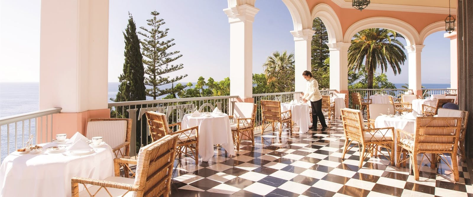 Afternoon Tea at Reid's Palace, A Belmond Hotel, Madeira, Portugal