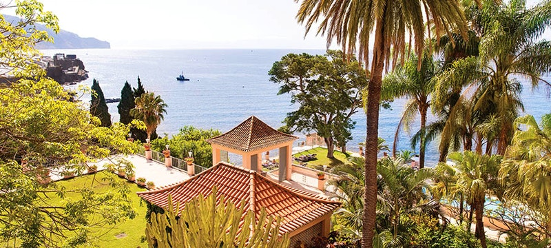 Stunning surroundings of Belmond Reid's Palace, Madeira