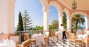 Enjoy afternoon tea on the Tea Terrace at Belmond Reid's Palace, Madeira