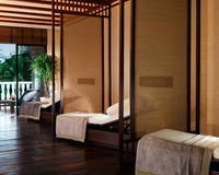 Relaxation lounge at The Peninsula Bangkok