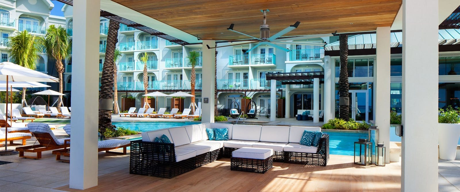 Pool Side Deck at The Westin Grand Cayman Seven Mile Beach Resort & Spa, Cayman Islands