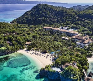 Resort overview at Shangri-La's Boracay Resort & Spa