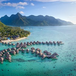 Exterior of Resort at Hilton Moorea Lagoon Resort & Spa, French Polynesia