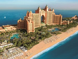 Aerial View of Atlantis The Palm, Dubai