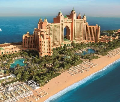 Atlantis The Palm landscape, Dubai