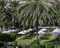 Resort west lawns at Columbia Beach Resort, Pissouri Bay