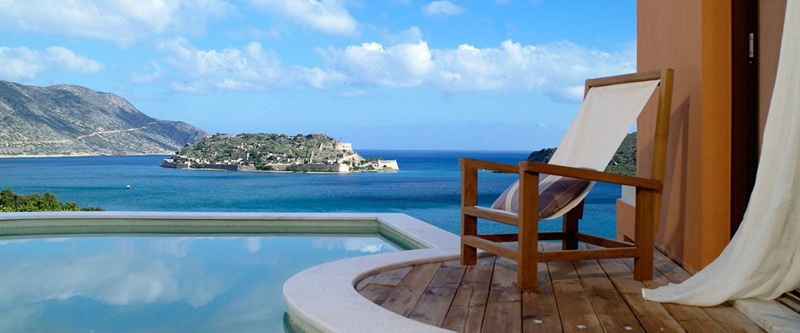 Private Pool with View at Domes of Elounda, Autograph Collection, Crete, Greece