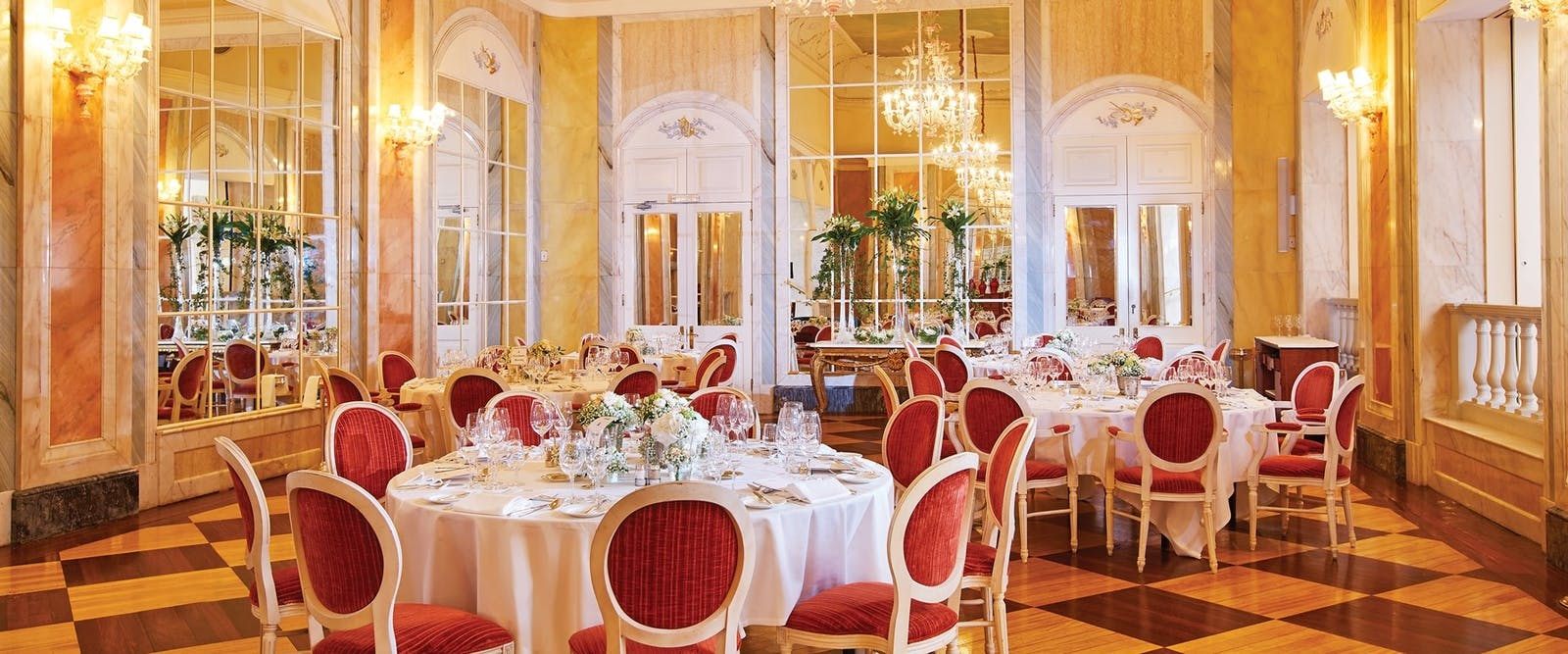 The Dining Room at Belmond Reids Palace, Madeira, Portugal