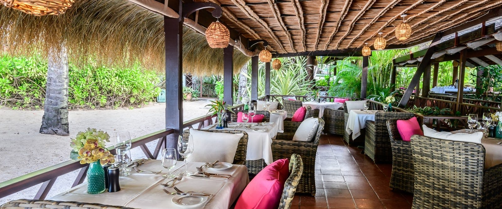 Restaurant at East Winds, St Lucia