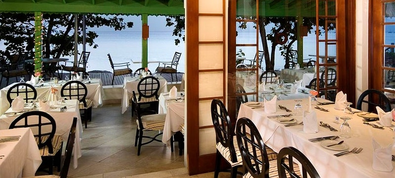 Julian Restaurant featuring a fusion of Caribbean and International cuisine at Mango Bay, Barbados