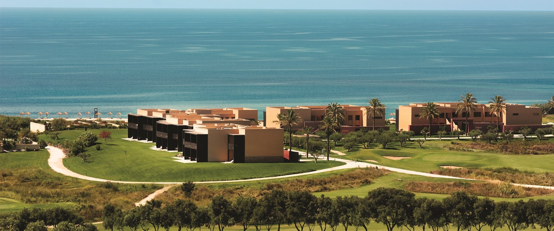 Aerial view of Verdura Resort, Sicily