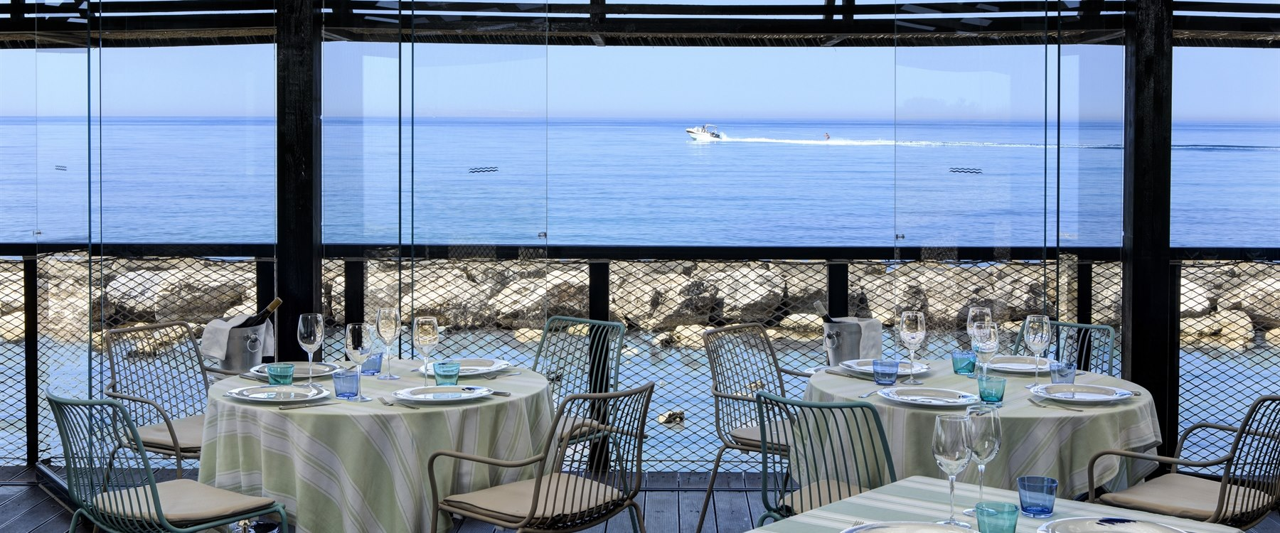 Amare restaurant at Verdura Resort, Sicily