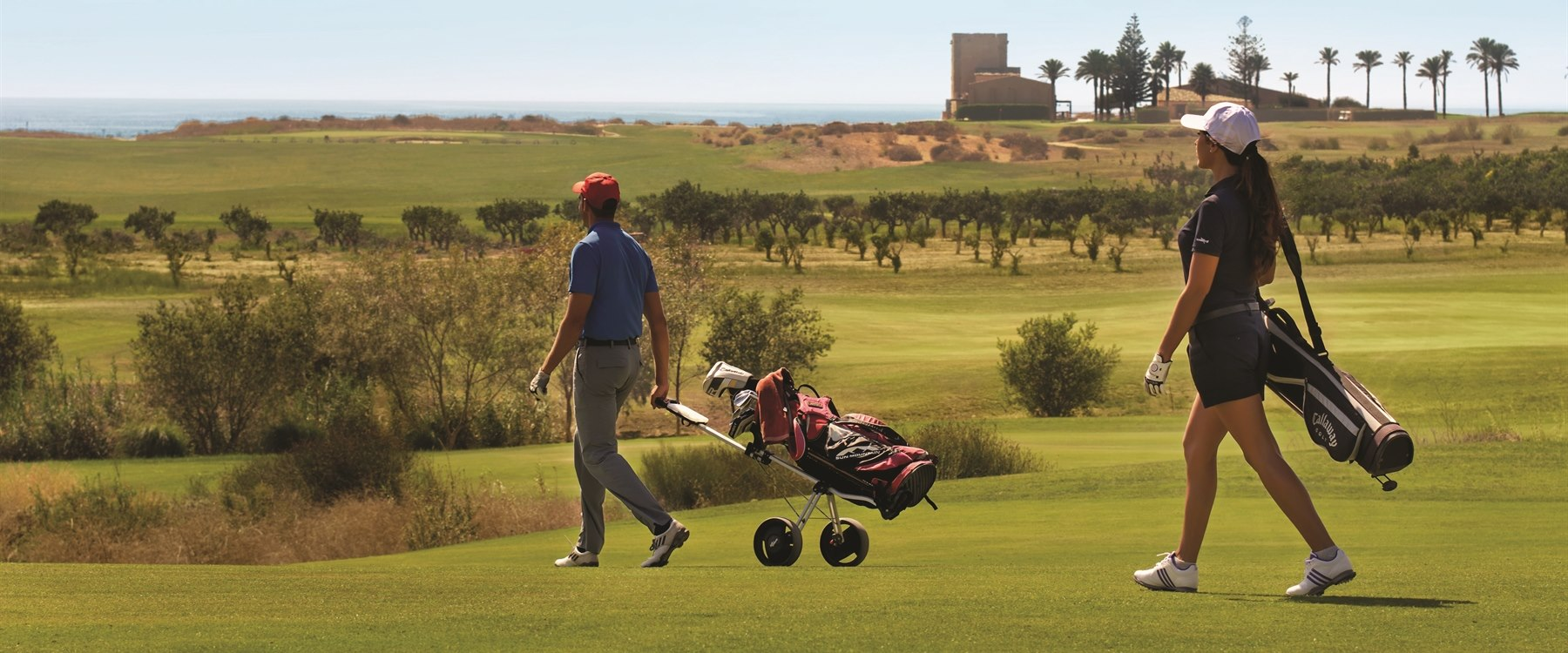 Golf course at Verdura Resort, Sicily