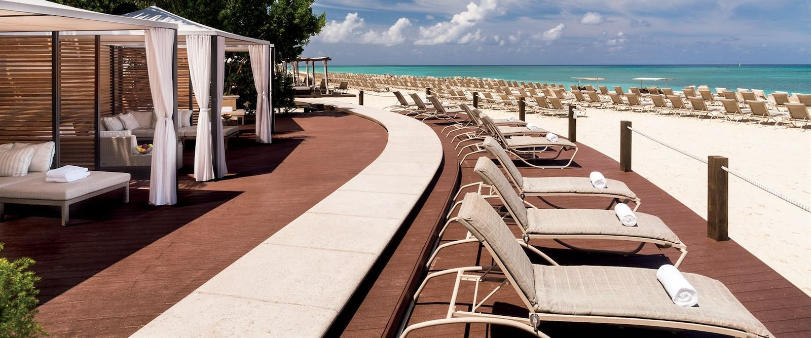 Beach Area at The Ritz-Carlton, Grand Cayman, Cayman Islands