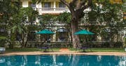Swimming pool at Raffles Hotel le Royal, Cambodia