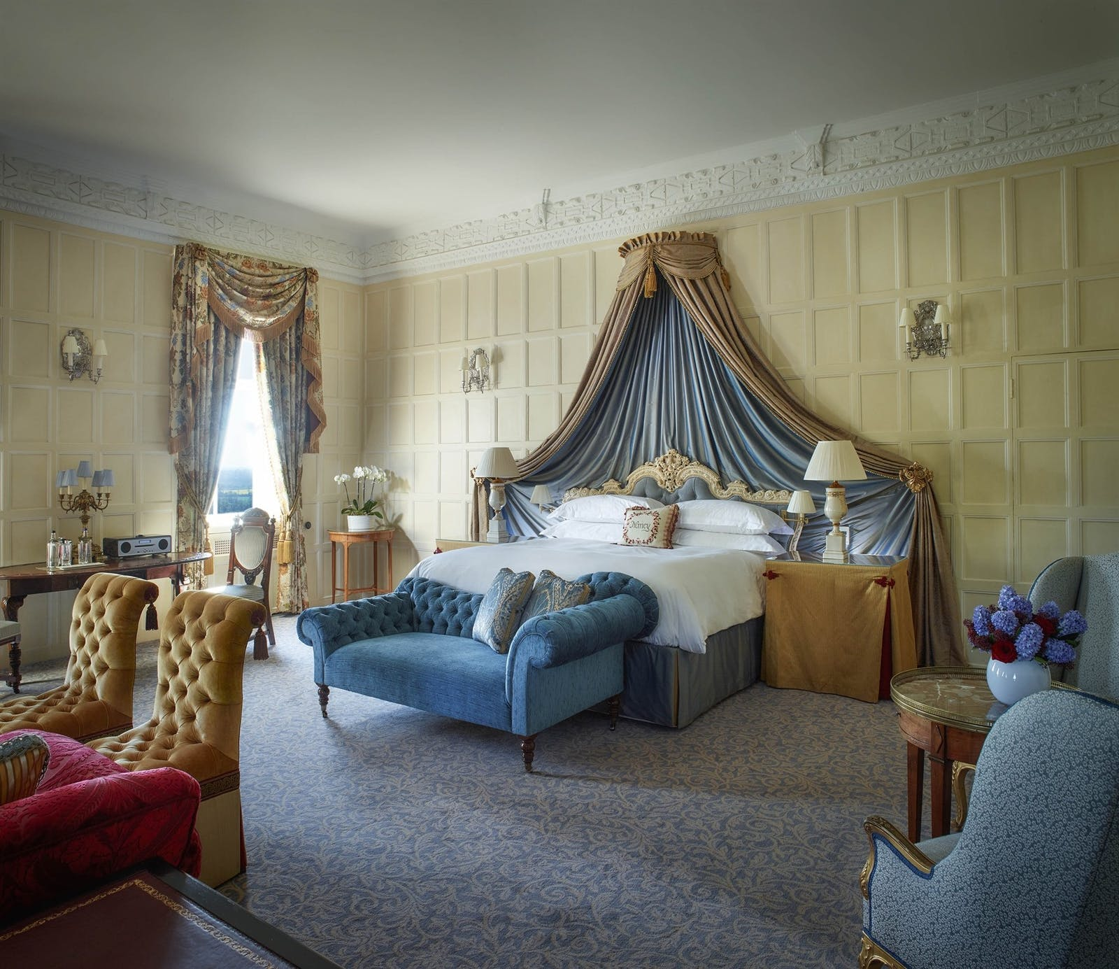 Lady Astor Room at Cliveden Taplow, Berkshire, England