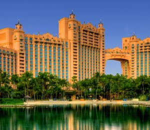 Exterior of Royal Towers Atlantis, Bahamas