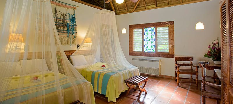 Royal Mayan bungalow at The Lodge at Chichen Itza