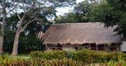 Royal Mayan Bungalow with loft exterior at The Lodge at Chichen Itza