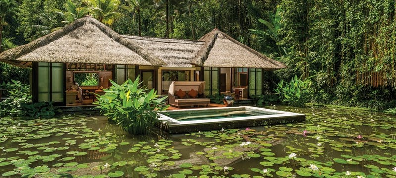 Royal spa villa at Four Seasons Resort Bali at Sayan