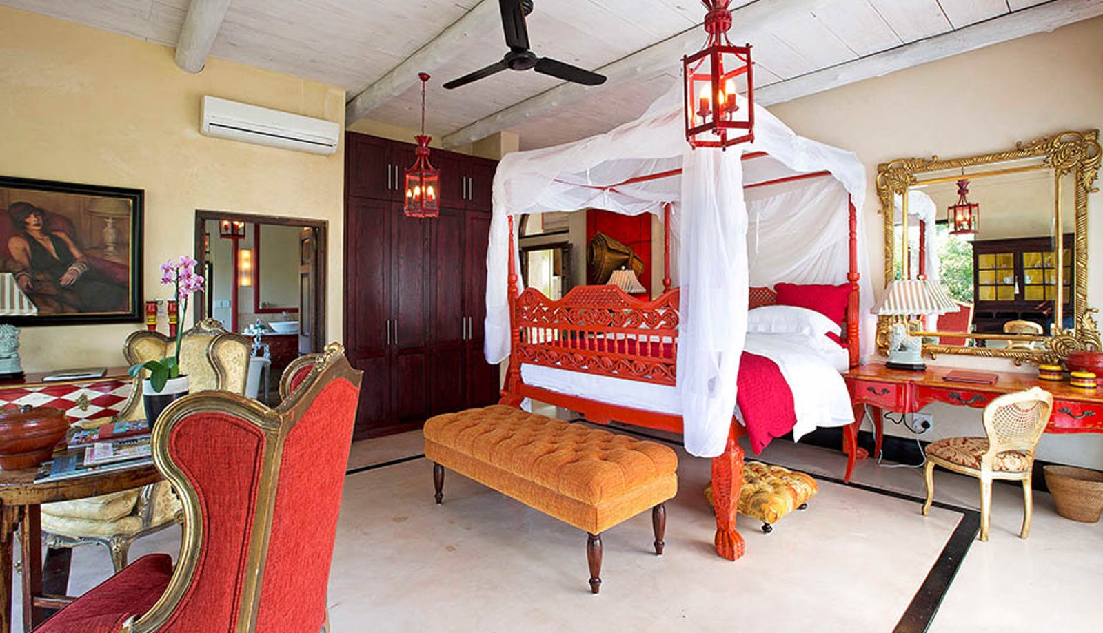Bedroom at Royal Malewane Kruger National Park