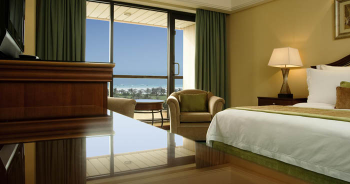 Bedroom with View at Le Royal Meridien Beach Resort & Spa