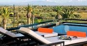 Penthouse pool at Royal Palm, Marrakech