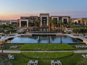 Exterior of Fairmont Royal Palm, Marrakech, Morocco