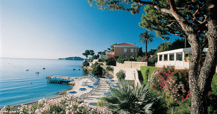 Beautiful view at Royal Riviera, France