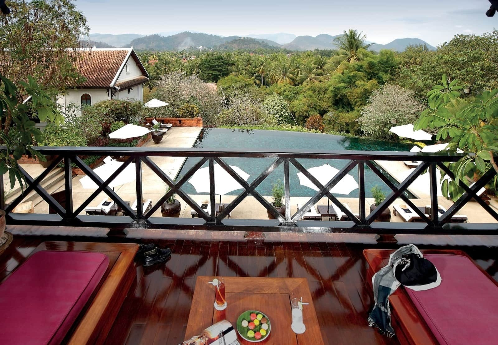 Junior Suite Mountain and Pool View at La Residence Phou Vao, Laos