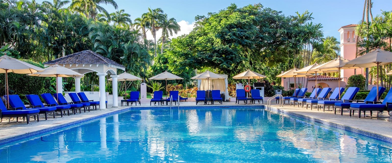 Swimming Pool at Fairmont Royal Pavilion, Barbados