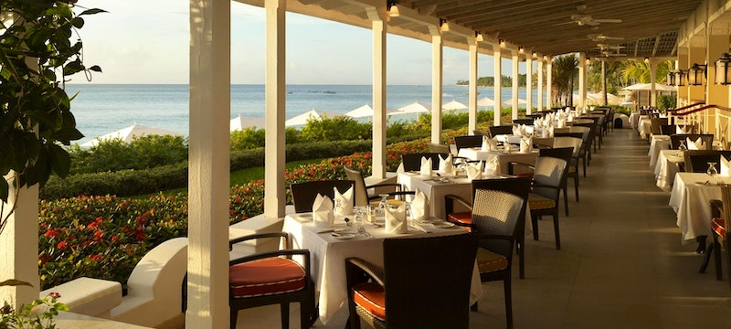 Enjoy exceptional Caribbean cuisine in a relaxed setting at Taboras Restaurant at The Fairmont Royal Pavilion, Barbados