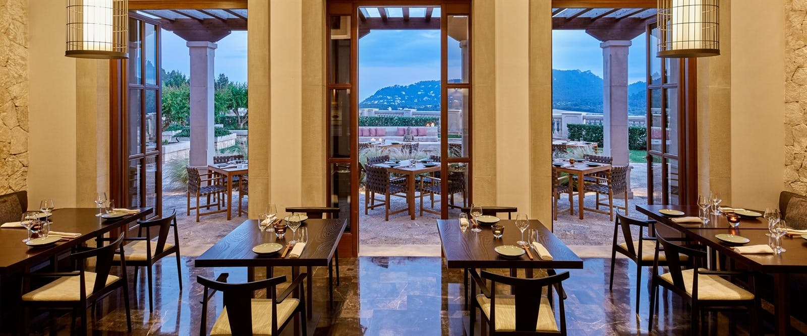 Asia Restaurant at Cap Vermell Grand Hotel, Mallorca, Spain