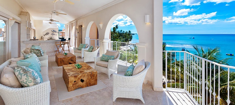 5 Bedroom Penthouse with Balcony View at Saint Peters Bay, Barbados