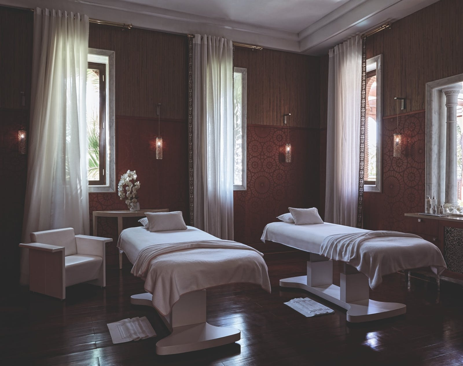 The spa at Royal Mansour, Marrakech