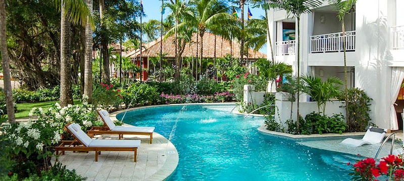Crystal Lagoon Village Swim-up Suites at Sandals Barbados