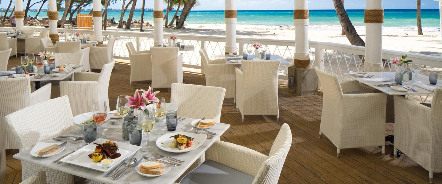 Schooner's Seafood and Grill Restaurant at Sandals Barbados