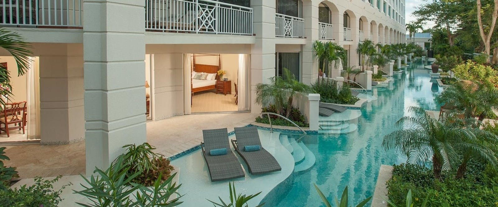 Swim Up Crystal lagoon Suite at Sandals Royal Bahamian, Bahamas, Caribbean