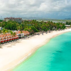 Caribbean Village Beach at Sandals Grande, Antigua