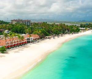 Caribbean Village Beach at Sandals Grande Antigua