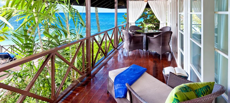 Bedroom Suite Balcony at The Sand Piper, Barbados