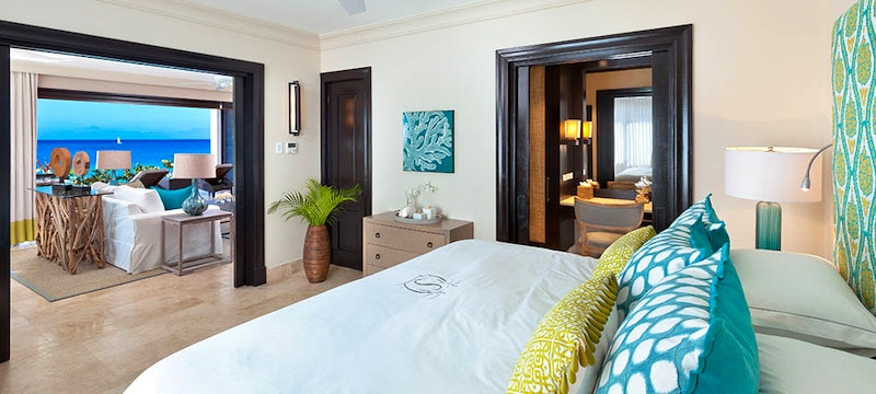 Beach House Bedroom with balcony at The Sand Piper, Barbados