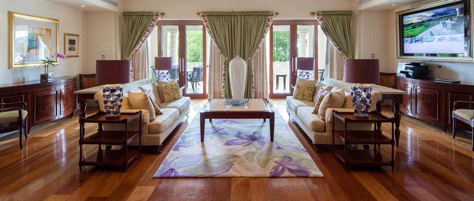 Relax in spacious accommodation at Sandy Lane, Barbados