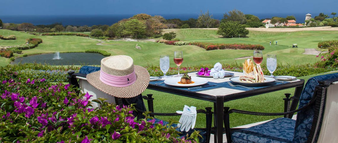 Sandy Lane, Barbados is a luxury golf resort