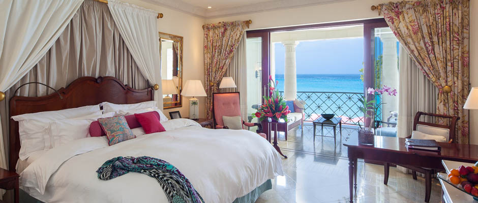 Luxury Ocean Room at Sandy Lane, Barbados