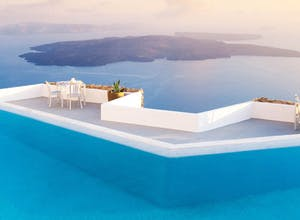 A luxury holiday in Mykonos & Santorini
